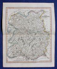 Original antique map SHROPSHIRE, John Cary, 1809