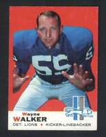 1969 Topps #54 Wayne Walker NM/NM+ Lions 63226