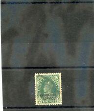 INDIA (CHAMBA) Sc O50(SG O66)F-VF USED 1938 9p GREEN, GEORGE VI, $180
