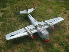 Black Horse - Grumman Mohawk OV-1 - 2 mot.elektrisch - RC Flugzeug