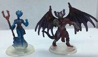 2 Planeswalker Miniatures for Dungeons & Dragons d&d and RPGs