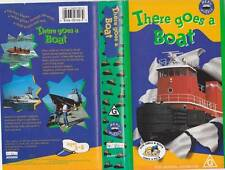 THERE GOES A BOAT   VHS VIDEO PAL~ A RARE FIND~