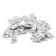 Free Shipping!50Packs Silica Gel Packets Desiccant Non-Toxic Absorb Moisture
