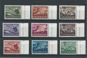 Postage Stamps Luxembourg 1946  7/15  - Poste Arienne - MNH **