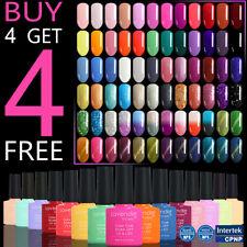 Soak off Color Gel Nail Polish 110 Colours Base Top Coat 8ml Salon Professional