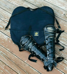 Baseball Umpire Chest Guard & Shin Pads Wilson MacGregor Sports Officiating