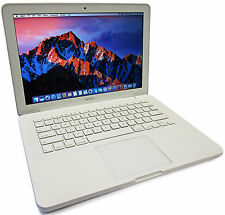 "Apple MacBook 13"" Core 2 Duo 2.26GHz 250GB 4GB Mac OS High Sierra A1342 Late2009"