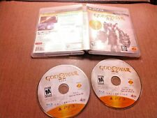 Sony PlayStation 3 PS3 Disc Case No Manual Tested God of War Saga Collection