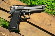 Beretta M92 Military Semi-Automatic 9mm Pistol - 92F - Non-Firing Denix Replica