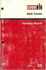 Case IH Tractor 9250 Operators Manual - ORIGINAL