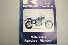 1987 Kawasaki Vulcan VN1500 88 88SE Factory Service Manual