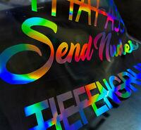 Slick Oil Auto Aufkleber Set 430 Hologramm Sticker Set Autodekor Waben Rauten