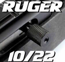 Ruger 10/22 charging handle Knurled Finish BLACK with 3 Spring rates