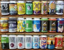 24 Cleveland Craft Beer Cans - Bottom Opened