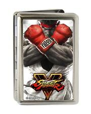 Street Fighter V Ryu Arms Crossed Metal Multi Use Wallet Card ID Holder New