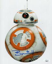 Brian Herring Autograph Signed 8x10 Photo - Star Wars Bb-8 (Jsa Coa)
