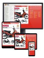 Honda ANF125 Innova Scooter (2003-2012) Haynes Online Manual