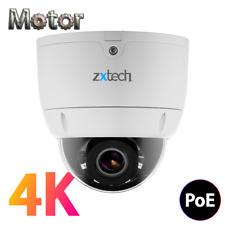8MP 4K Ultra HD AUTO MOTOR ZOOM VISIONE NOTTURNA SD PORTA Outdoor Telecamera CCTV POE IP