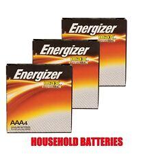 Energizer Industrial EN92 AAA Batteries 3 x 4 Packs (12 batteries)