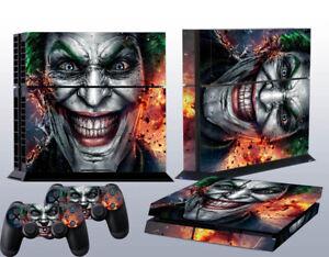 PS4 Game Console Skin Sticker Joker Vinyl Decal Skin Sticker