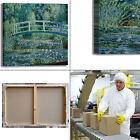 Monet ninfee e ponte giapponese quadro stampa tela dipinto telaio arredo casa