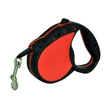 RED PAW DOG PET 5M LEAD RETRACTABLE LEASH SOFT GRIP HANDLE STRONG QUALITY