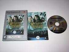 """JEU PS2 """" LE SEIGNEUR DES ANNEAUX LES DEUX TOURS """" PAL COMPLET EN BOITE"""