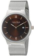 Caravelle New York By Bulova Men's Date Mesh Watch 45B138