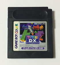 USED Nintendo GBC TETRIS DX JAPAN Game Soft Only Game Boy Color Japanese Deluxe