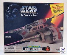 Star Wars Power of the REBEL SNOWSPEEDER  New Sealed