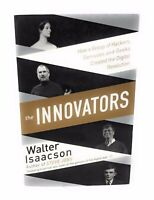 THE INNOVATORS Walter Isaacson (UK IMPORT) BOOK NEW Digital Revolution Paperback