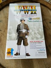 Dragon 1:6 WWII England 1944 US MILITARY POLICE MATT CLAPTON Figure ~ Nice!
