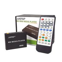 Full HD Media Player 1080P HDMI Out MKV AVI MP4 RM RMVB DivX Multi-Format on TV