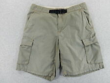 Horny Toad Cotton Cargo Shorts (Mens Large) Green