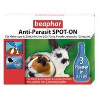 Beaphar Anti-parassita Spot-On per Roditori Coniglio 300-700g Pidocchi Pulci