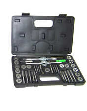 40pc Tap and Die Set Metric Thread Renewing Tapping Threading Chasing tools MM