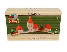 Eichhorn PISTE DE BILLES marbleblox ville, 4981 - NEUF - Circuit à billes
