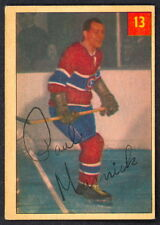 1954 55 PARKHURST HOCKEY 13 PAUL MASNICK EX+ MONTREAL CANADIENS
