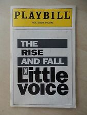 April 1994 - Neil Simon Theatre Playbill - The Rise And Fall Of Little Voice