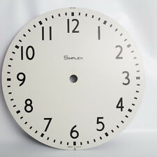 Vintage Simplex Metal Clock Face 507041
