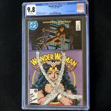 Wonder Woman #9 (DC 1987) 💥 CGC 9.8 WHITE PGs 💥 Origin of new CHEETAH! Comic