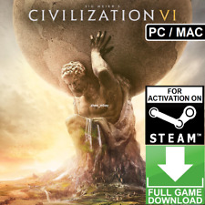 Sid Meier's Civilization VI 6 (PC/MAC) (2016) STEAM KEY GLOBAL [NO CD/DVD] FAST!