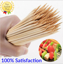6 inch Bamboo Skewers Wooden BBQ Sticks for Grill Shish Kabobs 100 to 2000 CT