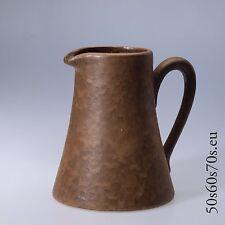 Keramik Krugvase braun Modellnummer 133 17 H=17,5 cm 70s Design WGP #28
