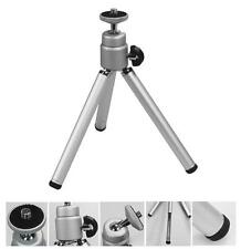 Silver Mini Tripod Mount Stand with Extendable Legs for GoPro Hero 4/3+/3/2/1 UK