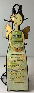 """Kelly Rae Roberts Inspirational Angel Wall Hanging Collage """"Angel of Hope"""""""