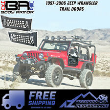 Body Armor 4X4 GEN 2 Front Trail Doors w/ Nylon Web 97-06 Jeep Wrangler TJ-6137