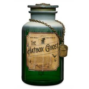 Scary Disney Halloween Ghost Spirit Jar,  The Haunted Mansion's The Hatbox Ghost
