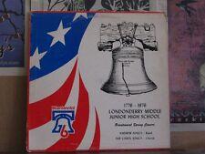 LONDONDERRY MIDDLE JUNIOR HIGH SCHOOL 1976 CONCERT LP