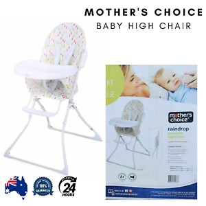 Mother's Choice Baby High Chair Seat Dining Feeding Toddler Foldable